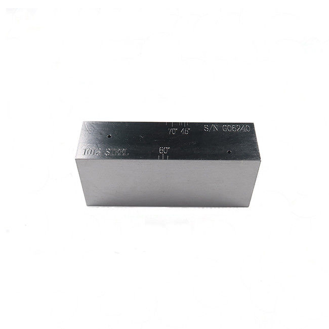 Sound Path Angle SC Sensitivity Step Wedge Calibration Block